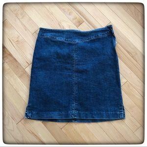 🤩Jones New York Jean Skirt